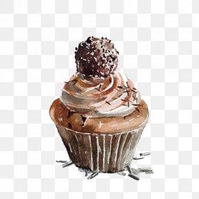 Chocolate Cake - Cupcake Coffee Chocolate Cake Muffin Tart PNG