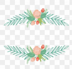 Vector Flower Plant Decorative Box - Euclidean Vector Flower PNG