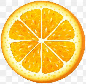 Orange Slice Clip Art Transparent Image - Juice Orange Slice Clip Art PNG