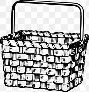 Picture Of Picnic Basket - Picnic Basket Easter Basket Clip Art PNG