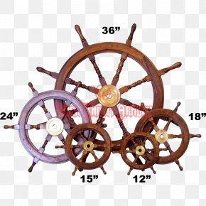 Ship - Ship's Wheel Motor Vehicle Steering Wheels Boat PNG