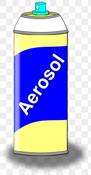 Spray Cliparts - Aerosol Spray Aerosol Paint Spray Bottle Clip Art PNG