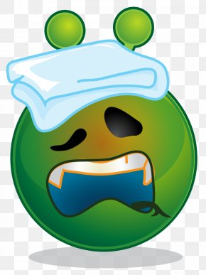 Smiley Green - Emoticon Smiley Emoji Clip Art PNG