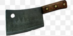 Knife - Knife Payday 2 Cleaver Kitchen Knives PNG