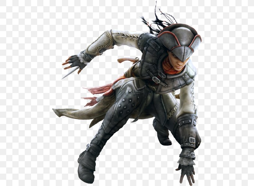 Assassin's Creed III: Liberation Assassin's Creed: Revelations Assassin's Creed Unity Assassin's Creed III: The Battle Hardened Pack Video Game, PNG, 484x600px, Video Game, Action Figure, Armour, Assassins, Connor Kenway Download Free