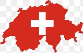 Flag - Flag Of Switzerland Map National Flag Flag Of Turkey PNG