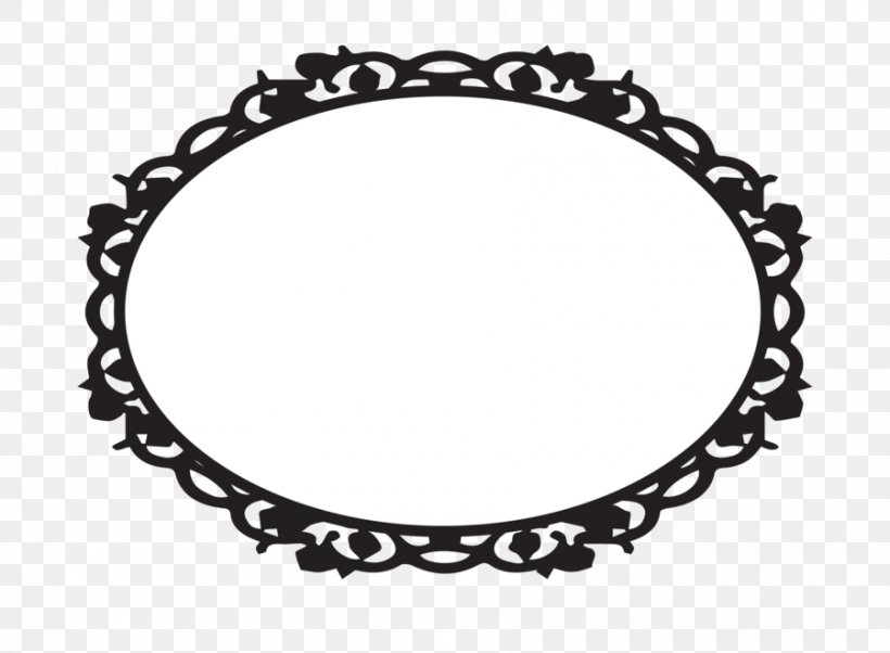 Picture Frame Oval Clip Art, PNG, 900x661px, Picture Frame, Black, Black And White, Blog, Body Jewelry Download Free
