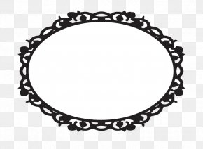 Picture Frame Clipart - Picture Frame Oval Clip Art PNG