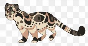 Clouded Leopard - Cat Tiger Leopard Mammal Clip Art PNG