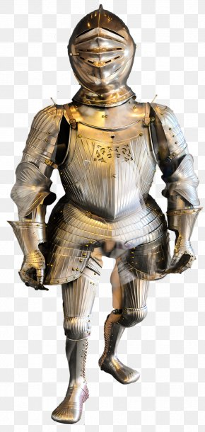 Armour - Middle Ages Knight Plate Armour Body Armor PNG
