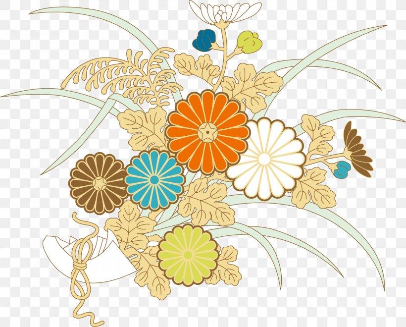 Floral Design Ukiyo-e Download, PNG, 1555x1252px, Floral Design, Art, Cut Flowers, Flat Design, Flora Download Free