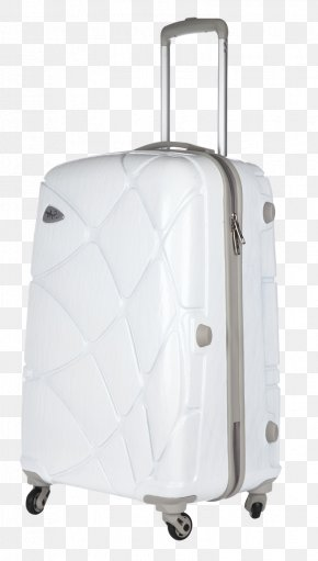 Strolley Bag - Hand Luggage White PNG
