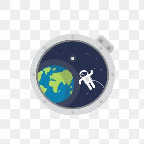 Astronaut Extravehicular Space And The Earth - Astronaut Euclidean Vector Outer Space PNG