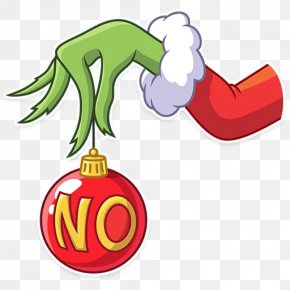 Santa Claus - How The Grinch Stole Christmas! Sticker Clip Art Christmas Day Image PNG