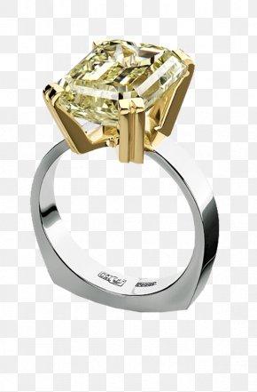 Gold Diamond Ring - Ring Jewellery Diamond PNG