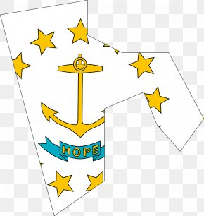 Flag - Flag Of Rhode Island State Flag Flag Of The United States PNG