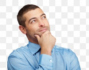 Thinking Man - Man Thinking Thought Clip Art PNG
