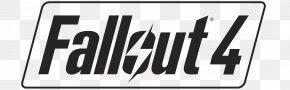 Fallout 4 Boy - Fallout 4 Fallout 3 Logo Brand Emblem PNG