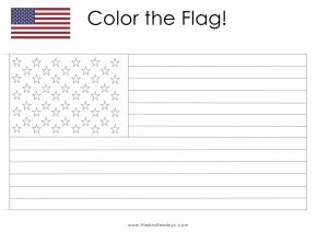 American Flag Printable - Flag Of The United States Coloring Book Child PNG