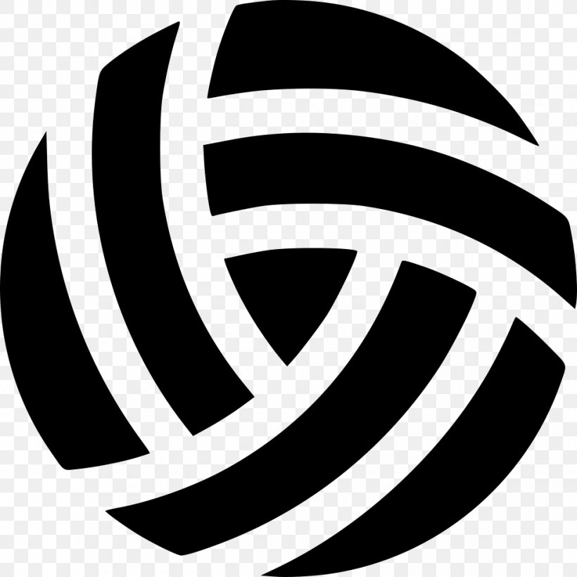 Royalty-free Sport Volleyball, PNG, 980x980px, Royaltyfree, Ball, Black And White, Brand, Fotolia Download Free
