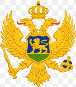 Montenegro - Double-headed Eagle Coat Of Arms Of Montenegro National Coat Of Arms Flag Of Montenegro PNG