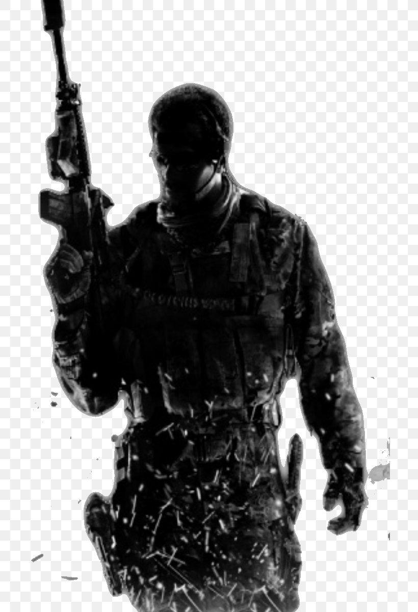 Call Of Duty: Modern Warfare 3 Call Of Duty 4: Modern Warfare Call Of Duty: Modern Warfare 2 Call Of Duty: Ghosts, PNG, 710x1200px, Call Of Duty Modern Warfare 3, Black And White, Call Of Duty, Call Of Duty 4 Modern Warfare, Call Of Duty Advanced Warfare Download Free