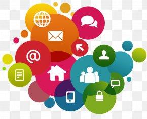 Social Media - Digital Marketing Social Media Web Development Online Presence Management Search Engine Optimization PNG