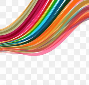 Rainbow Material Free Download - Color Line Rainbow Euclidean Vector PNG