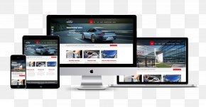 Web Design - Responsive Web Design Web Development Web Page PNG