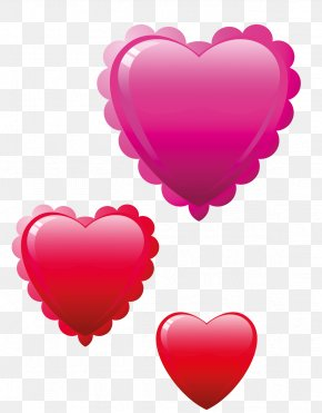 Valentine's Day - Valentine's Day Heart Birthday Clip Art PNG
