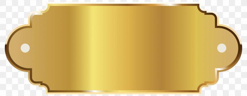 Label Template Clip Art, PNG, 6369x2488px, Gold, Computer Software, Digital Media, Gold Bar, Label Download Free