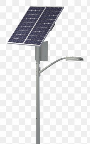 Street Light - Solar Street Light Solar Lamp Lighting PNG