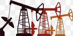 Oil Field Well Derrick - A-T Oil Field Euclidean Vector Petroleum Oil Platform PNG