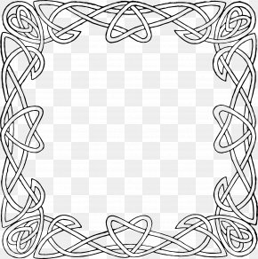 Frame Ornament - Celtic Knot Celtic Frames And Borders Ornament Clip Art PNG
