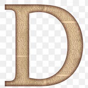 Letter D - Letter Case Stencil PNG