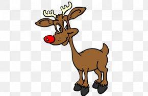 Santa Claus - Rudolph Santa Claus's Reindeer Santa Claus's Reindeer Clip Art PNG