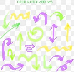 Colored Arrows - Arrow Euclidean Vector Download Icon PNG