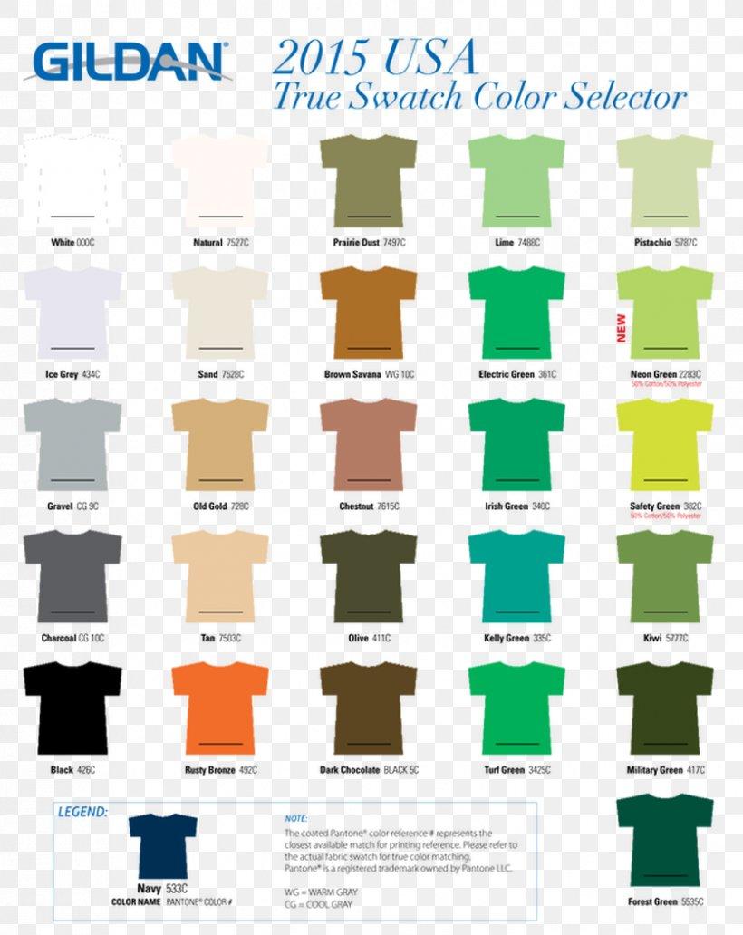 T Shirt Gildan Activewear Color