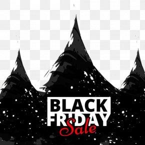 Black Friday Decorative Pattern - Black Friday Sales Poster Advertising PNG
