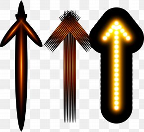Light Efficiency Arrow - Light Euclidean Vector Arrow PNG