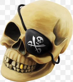 Pirate Skull - Piracy Skull Skeleton PNG