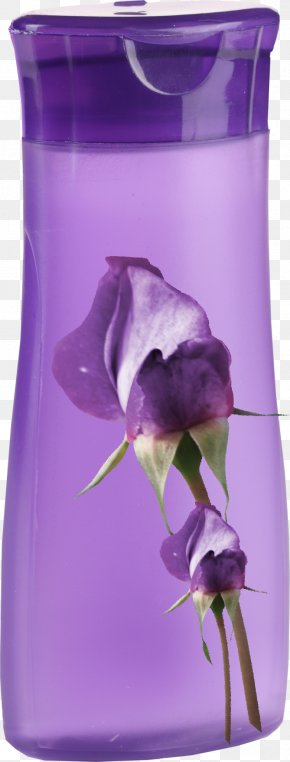 Purple Shower Gel Material Free To Pull - Purple Shower Gel PNG