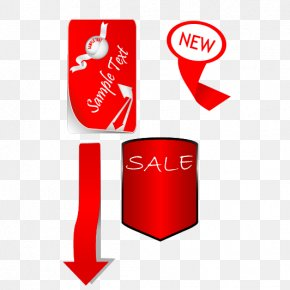 Red Promotions - Red Promotion Sticker PNG