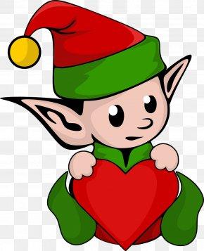 Elf - The Elf On The Shelf Santa Claus Christmas Elf Clip Art PNG