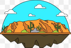 Vector Forest - Grand Canyon National Park Clip Art PNG