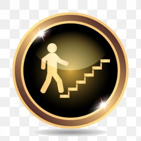 A Villain On The Stairs - Royalty-free Stock Illustration Icon PNG