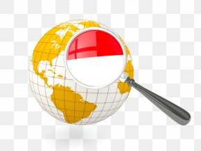 FLAG OF INDONESIA - Stock Photography Globe World Flag Of Indonesia PNG
