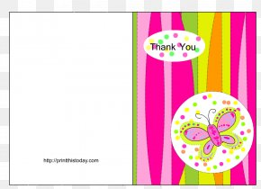 Thank You - Wedding Invitation Playing Card Template Baby Shower Greeting & Note Cards PNG