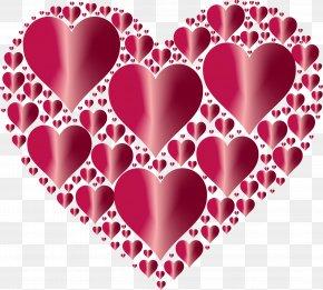 Love Background - Love Heart Desktop Wallpaper Valentine's Day Clip Art PNG