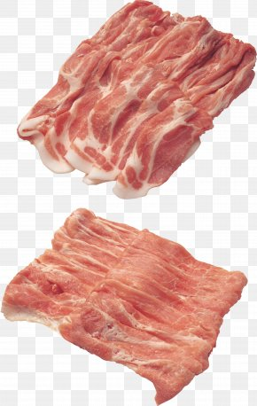 Bacon - Bacon Spare Ribs Pork Meat PNG
